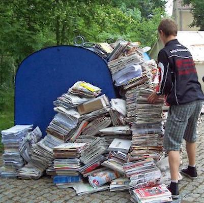Altpapier Sammeln